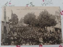 Jussey 17 Septembre Défilé La Musique Du 109 D'infanterie Et Les Autorités Haute Saône Franche Comté - Altri Comuni