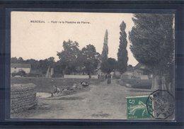 21. Merceuil. Pont De La Planche De Pierre - Frankreich