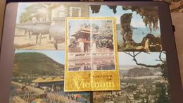 Big Lot! VIETNAM   - 10 PCs  - Old Postcard - Animated - Vietnam