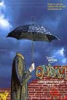 Die Cut Postcard Headless Man Umbrella Circus Cirque Du Soleil Quidam Australia - 12442 - Circus