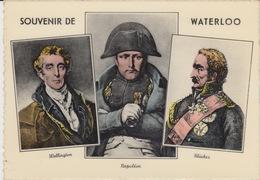 PAESI BASSI - BELGIO - SOUVENIR DE WATERLOO - WELLINGTON-NAPOLEON-BLUCHER - Waterloo