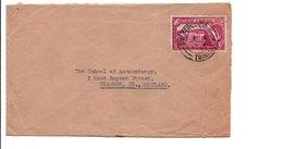 TRINIDAD ER TOBAGO GB LETTRE POUR L'ECOSSE 1956 - Trinidad Y Tobago
