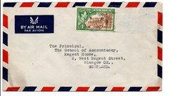 JAMAÏQUE GB LETTRE POUR L'ECOSSE 1946 - Jamaica (...-1961)