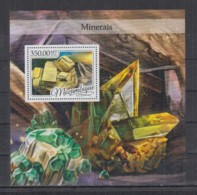 V713. Mozambique MNH - 2016 - Nature - Minerals - Bl - Planten