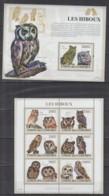 W714. Comores - MNH - 2009 - Nature - Fauna - Animals - Birds - Owls - Flora