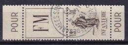 FRANCE - Infanterie Oblitérée TTB - Franchise Militaire (timbres)