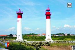 Set 6 Cartes Postales, Phares, Lighthouses Of Europe, France, Ile D'Aix, Le Phare De L'Ile D'Aix - Leuchttürme