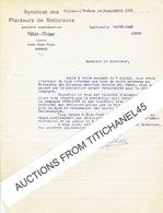 VILLERS L'EVEQUE 1936 - SYNDICAT DES PLANTEURS DE BETTERAVES - Liste De 3 Pages De Tous Les Syndiqués Campagne 1935 - Sin Clasificación