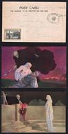 Guerre 1914/18: Miss Edith Cavell: Magnifique Ensemble De 7 Cartes Neuves Et Oblitérées, Dont Une Avec.......... - Vignettes Militaires