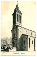 Algérie - TLEMCEN - L'Eglise - Bon état, Voir Impression Décalée Du Dos - Tlemcen
