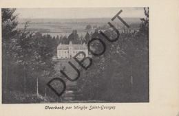 Postkaart - Carte Postale Sint Joris Winge, Cleerbeck - Kasteel   (G191) - Tielt-Winge