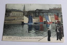 Nantes - L'arrivée Des Chaloupes De Pêche De Noirmoutier - 1907 - Nantes