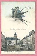 57 - DIEDENHOFFEN - THIONVILLE - Im Fluge Durch Die Welt - Marktplatz - Thionville