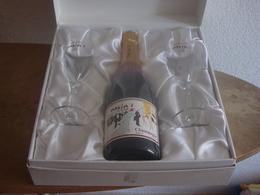 CHAMPAGNE MAXIM'S PRESTIGE- COFFRET AVEC SES 2 FLUTES - RARETE - Champagne & Spumanti