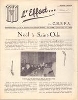 Magazine Tijdschrift - Guerre 1939 - 1945 - Prisonniers Politique - L'Effort - 1951 - Oorlog 1939-45