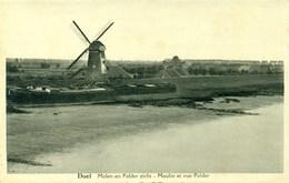 Doel - Molen En Polder Zicht - Schelde - Moulin Et Vue Polder - Beveren-Waas