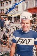 4933 Photo Cyclisme Didier Bourrier  Dédicacée - Radsport