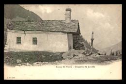 SUISSE - BOURG ST-PIERRE - CHAPELLE DE LORETTE - VS Valais