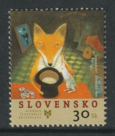 SLOVAKIA 2005 20th Biennial Exhibition Of Book Illustrations For Children/Fox: Single Stamp UM/MNH - Slovakia