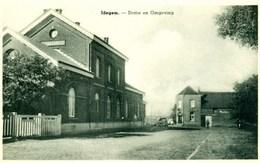 Idegem - Statie En Omgeving - 2 CV - Gare - Station - Geraardsbergen