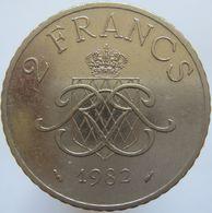 Monaco 2 Francs 1982 XF - Monaco