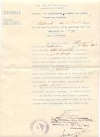 Brief Lettre - Oorlogsschade Aan Goederen Gemeente Assebroek - Oorlog 1914 - 1918 - Oude Documenten
