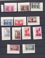 N° 1001    Timbres Poste Surtaxes  Roumanie Luxe N° 854/65 **  2 Séries    2 Sets - Variedades Y Curiosidades