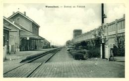 Waarschoot - Station En Fabriek - Statie - Gare - Waarschoot
