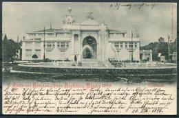 1898 Germany Munich Craft Exhibition Stationery Postcard - Ragensburg. Kraft-und Arbeitsmaschinen-Ausstellung München - Covers & Documents