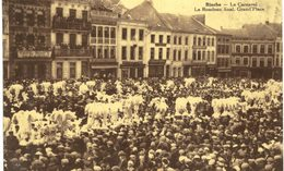 BINCHE   Le Carnaval  Le Rondeau Final A La Grand Place. - Binche