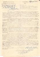 Brief Lettre - Borgerhout 1942 Naar Assebroek - Trésorerie Du Régiment Des Troupes De Communication Armée Belge - Oude Documenten