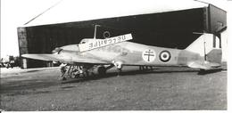 PHOTO AVION AVRO ANSON MKI N°EG352 A BAMAKO GROUPE ARTOIS 1943 ESCADRILLE BETHUNE  17X8CM - Aviation