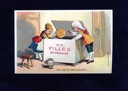 Aux Filles Du Calvaire - Les Petits Boulangers - Galette - Imp Bognard - 45 005 - Cromo