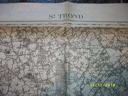 Topografische / Stafkaart Van Sint-Truiden (Neerlinter Rummen Alken Wimmertingen Wellen Brustem Velm Wilderen Kortessem) - Cartes Topographiques
