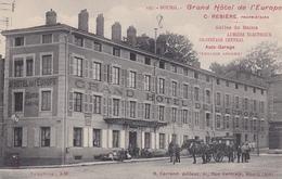 Bourg Grand Hotel De L'Europe - Bourg-en-Bresse