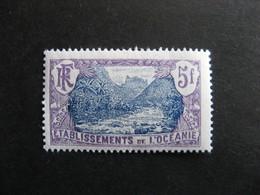 Etabl. De L'OCEANIE:  TB N° 37, Neuf XX. - Unused Stamps