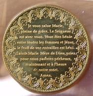 Jeton Touristique Notre Dame De Reims - Je Vous Salue Marie. - 2012