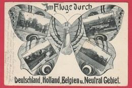Kelmis ... Neutral Gebiet ...  Schmetterling -1906 ( Verso Zien ) - La Calamine - Kelmis