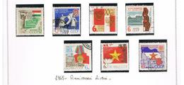 URSS -  YV  2932-2938  - 1965  DIFFERENT ANNIVERSARIES (COMPLET SET OF 7)         - USED°  - RIF. CP - 1923-1991 URSS