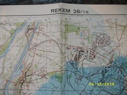 Topografische / Stafkaart Van Rekem (Eisden - Maasmechelen - Stein - Geleen - Elslo - Uikhoven - Boorsem) - Cartes Topographiques