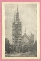 67 - SCHILTIGHEIM - Eglise Catholique - Le Clocher En Reconstruction - Voir état - Schiltigheim