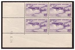 P A  N° 7 En Coin Daté Timbre ** Du 18.8.34. - 1930-1939