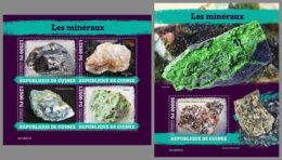 GUINEA REP. 2019 MNH Minerals Mineralien Mineraux M/S+S/S - OFFICIAL ISSUE - DH1949 - Minerali