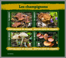 GUINEA REP. 2019 MNH Mushrooms Pilze Champignons M/S - OFFICIAL ISSUE - DH1949 - Funghi