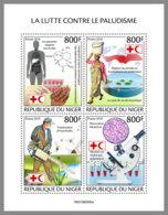 NIGER 2019 MNH Fight Agains Malaria Kampf Gegen Malaria Lutte Contre Le Paludisme M/S - OFFICIAL ISSUE - DH1949 - Malattie