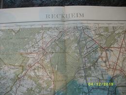 Topografische / Stafkaart Van Rekem - Reckheim (Opglabbeek - Dilsen - Rotem - Obbicht - Sittard - Elsloo - Maasmechelen) - Cartes Topographiques