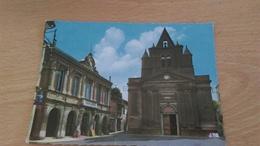 CSM -  9. MONTASTRUC LA CONSEILLERE  - La Mairie Et L'église - Montastruc-la-Conseillère