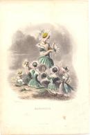 Ets Gravure - Fleurs , Bloemen - Marguerite - Stiche & Gravuren