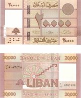 Just Issued, Lebanon 20000 Livres, 2019, UNC NEW Banknote, EARLY RELEASE - Lebanon