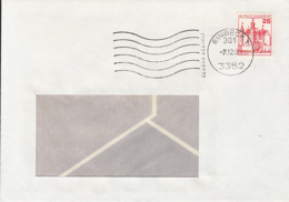 84028- CASTLE STAMPS ON COVER, 1991, GERMANY - [7] Repubblica Federale